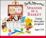 Spanish in a basket - Spanish language courses for children