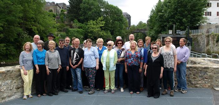 Bangor Community Choir and Coastal Voices in Oloron-Sainte_Maire