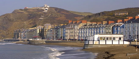Photo of Aberystwyth seafront
