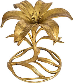 A gilded lily
