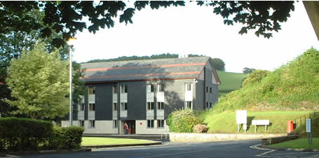 Photo of the hall of residence where I'm staying during the course
