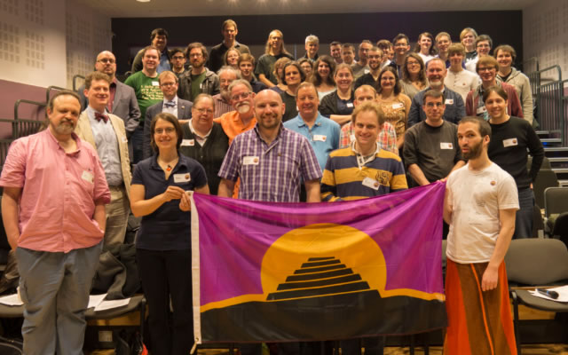 Participants in the 6th Language Creation Conference in Horsham