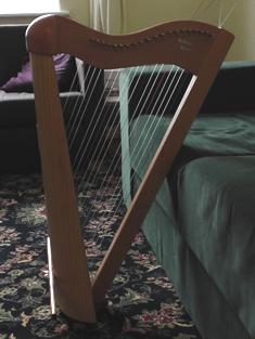 My pedran bach harp