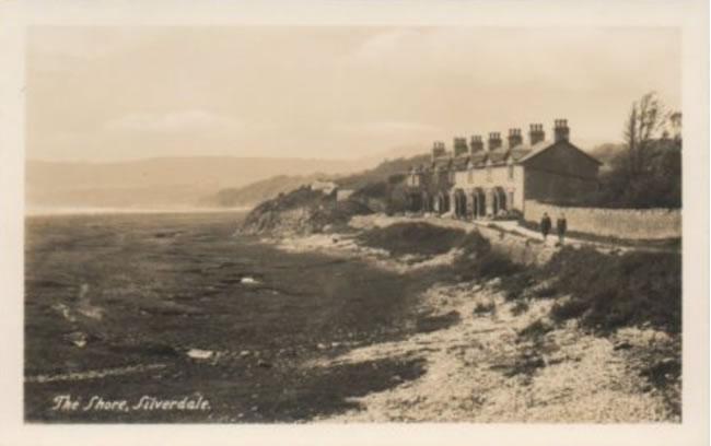 A postcard of Silverdale Shore (1911)