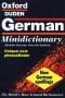 The Oxford-Duden German Minidictionary
