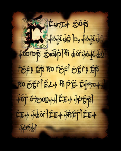 Sample text in Ayvarith