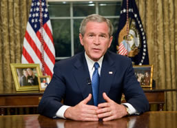 George W. Bush has been a notorious perpetrator of speech errors. Image via Wikipedia