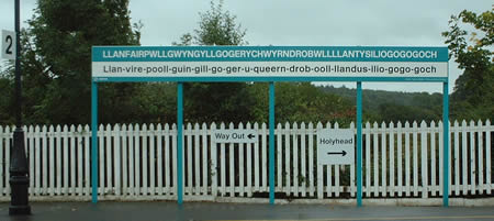 Station at Llanfairpwllgwyngyllgogerychwyrndrobwllllantysiliogogogoch