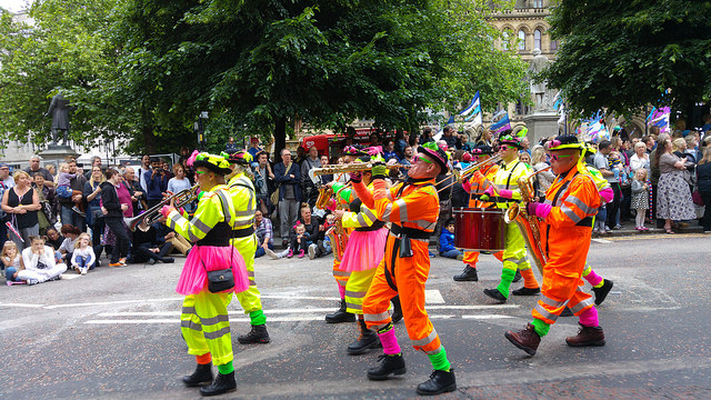 Part of the Manchester Day Parade 2016