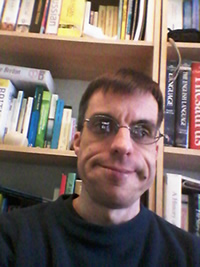 Me in my home office