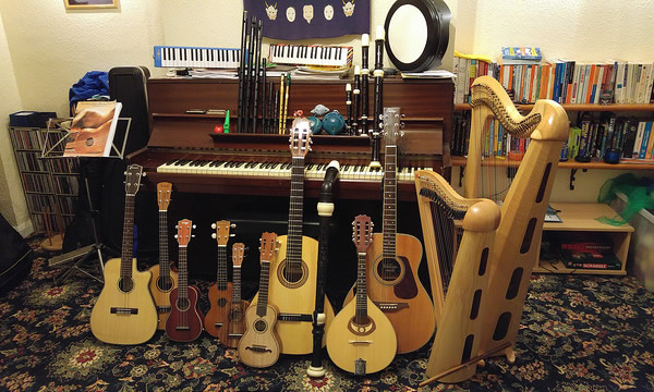 My musical instruments (December 2015)