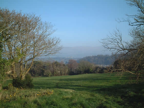A view from Roman Camp, Bangor on a sunny Sunday in March 2012