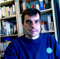 A photo of Simon Ager, author of Omniglot